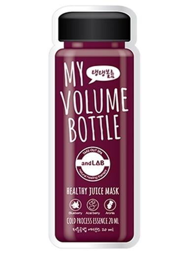 Ancors Ancors My Volume Bottle - Meyve Özlü Sıkılaştırıcı Yüz Maskesi Renksiz